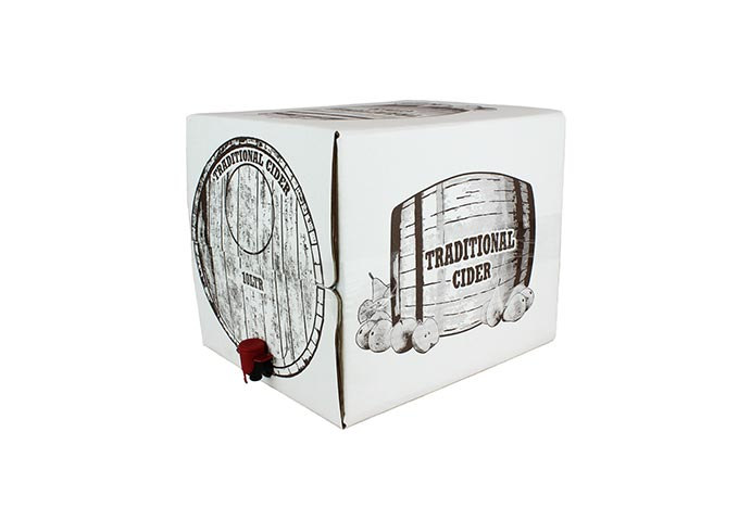 10 litre printed ale box